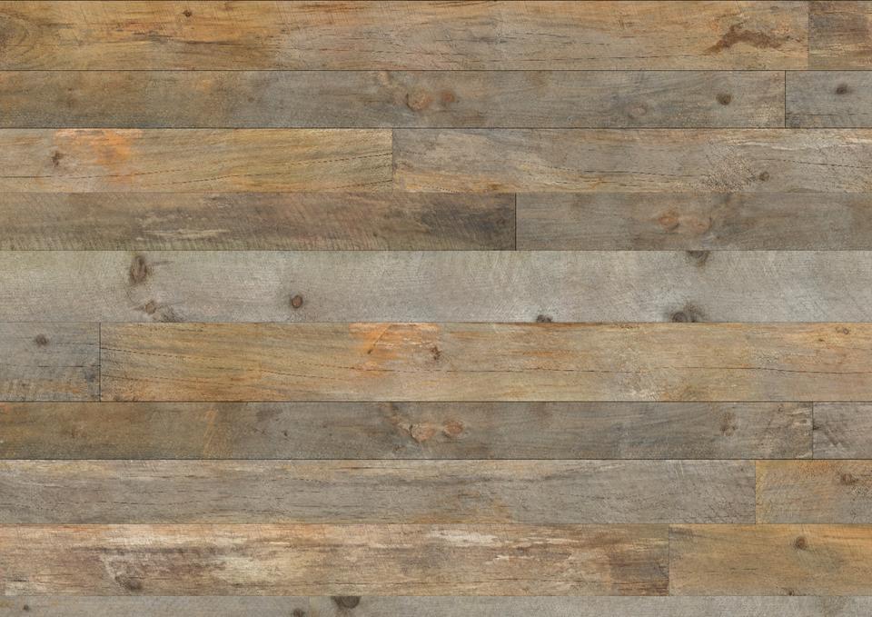 Mur bois de grange gris for Planche bois gris